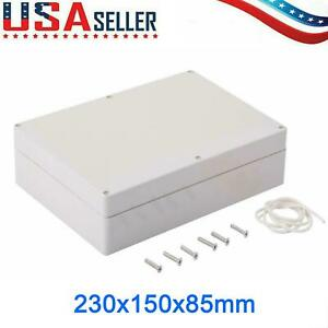 Plastic Enclosure Project Case Diy Junction Box Water resistant 230 150 85mm Usa