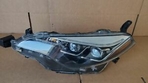 2017 2018 2019 Toyota Corolla Full Led 2 Proyectors Oem Left Driver Side