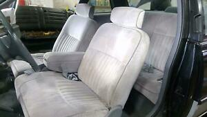 88 96 Buick Regal Coupe Bench Seat Set Front Rear Slate Grey