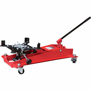 Srongway Hydraulic Lo Pro Transmission Jack 1 2 Ton Cap 8 1 2in 22 1 4in Lift
