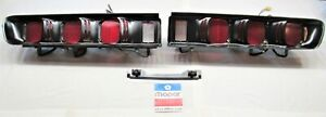 1972 72 Dodge Charger Rallye Restored Dress Up Taillight Assembly Set