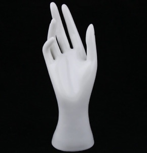 Mannequin Hand Jewelry Bracelet Display Ring Watch Stand Model Female White Pvc