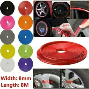 2020 Autoflying Car Tuning Alloy Wheel Rim Protector Tire Rubber Guard Stripline