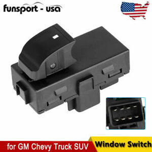 Power Window Switch Rear Lh Left Or Rh Right For Buick Chevy Gmc Sierra 2007