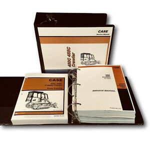 Case 450c 455c Crawler Dozer Loader Service Manual Parts Catalog Overhaul Repair
