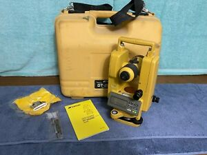 Topcon Dt 200 Series Dt 209 Digital Theodolite With Original Case