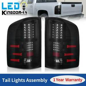 2x For 07 13 Chevy Silverado 1500 2500 Hd Led Tail Lights Brake Rear Lamps L r