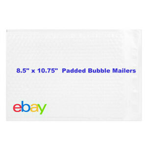 Ebay Branded Shipping Supplies Padded Bubble Poly Mailers Envelopes 8 5 X 10 75