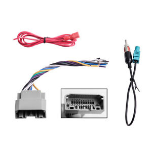 Car Stereo Radio Wiring Harness Antenna Adapter For Jeep Dodge Chrysler New Usa