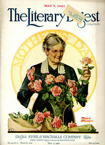 Literary Digest-May 7  1921-Mothers Day-Coca Cola ad