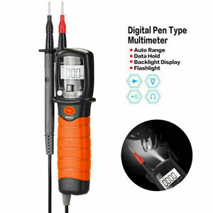 Holdpeak Digital Multimeter Pen Type Meter Dc Ac Voltage Continuity Tester Tool