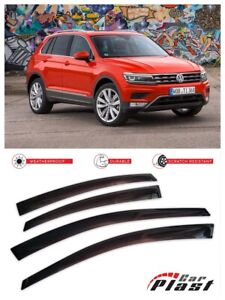 For Volkswagen Vw Tiguan 2017 Europe Window Visor Vent Rain Wind Guard