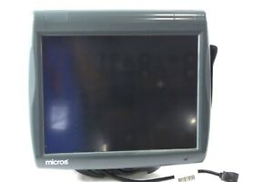 Micros Workstation 5 Pos System Touchscreen Unit 400814 001 W Windows Ce 6 0