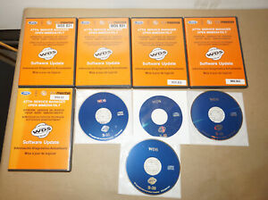 Rotunda Wds Ford Diagnostic System Lot Of 9 Cd Rom Software Updates