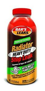 Bar s Leaks Plt11 Pelletized Hd Radiator Stop Leak 11 Oz