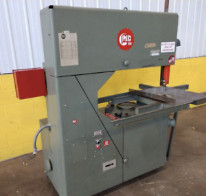 36 Grob Model 4v 36 Vertical Band Saw Ybm 12629