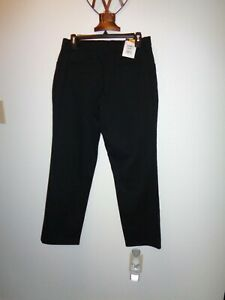 Lee All Day Pants Size 6 Short Black NWT $35.00
