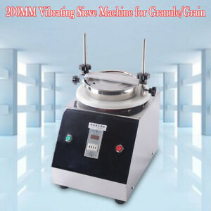 Granule powder grain Electric Lab Shaker 0 025 3 Mm 110v Vibrating Sieve Machine