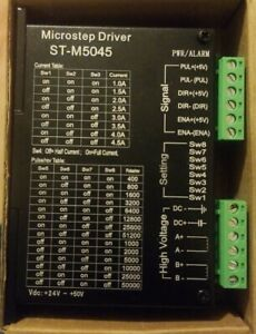 Cnc Micro stepping Stepper Motor Driver 4 5a