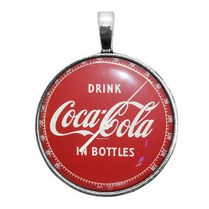Coca-Cola Thermometer Image Key Ring Necklace Cufflinks Tie Clip Ring Earrings