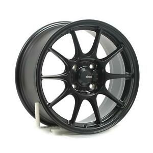 Wheels Konig Dekagram 16x8 4x108 Et40 Semi Matte Black