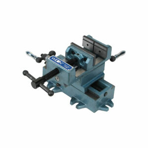 Wilton Tools 5 Inch Cross Slide Table Drill Press Vice With Cast Side Knobs