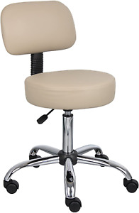 Boss Office Products Be Well Medical Spa Stool With Back In Bei