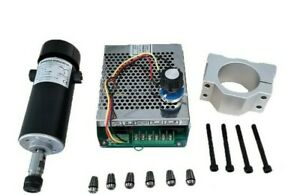 Cnc Spindle Kit 500w Air Cooled 0 5kw Milling Motor Spindle Speed Controller