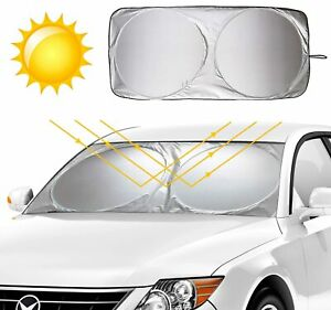 Fit For Mercedes Benz Car Windshield Cover Sun Visor Shade Window Sunshade