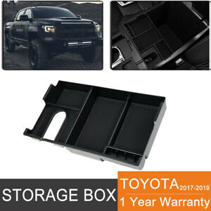For 14 19 Toyota Tundra Center Console Storage Box Armrest Organizer Insert Tray