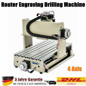 4 Axis Cnc 3020 Router Engraving Drilling Machine Carving Cutting Machine 3d