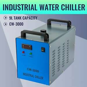 Cw 3000 Industrial Water Chiller For 50 100w Co2 Laser Tubes For Lab And Factory
