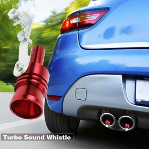 Car Blow Off Valve Noise Turbo Sound Simulator Whistle Muffler Tip M L Xl