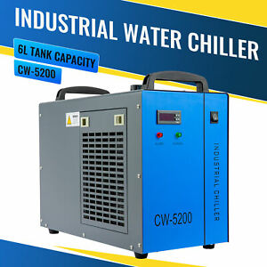 Cw 5200 Industrial Water Chiller For 60 150w Co2 Laser Engraving Cutting Machine