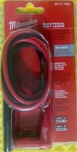 Milwaukee 49 77 1003 Electrical Test Leads