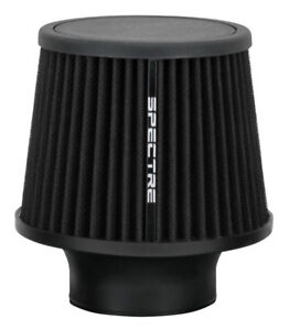 Spectre 9131 Cold Air Intake Filter 3 76mm Black Washable Clamp On Air Cleaner