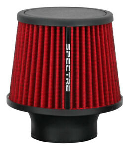 Spectre 9132 Cold Air Intake Filter 3 76mm Red Washable Clamp On Air Cleaner