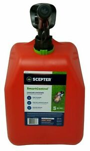 Scepter Fuel Can Smart Control Gasoline Container 5 gal