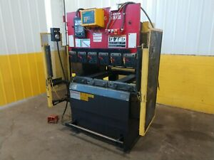 35 Ton X 48 Amada Model Rg 3512ld Hydraulic Cnc Press Brake Ybm 13418