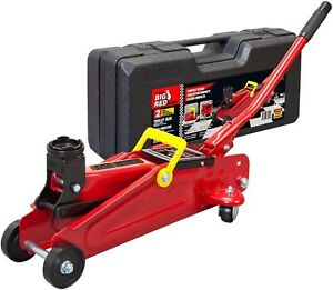 New Big Red T820014s Torin Hydraulic Trolley Service 2 Ton 4 000 Lb Capacity