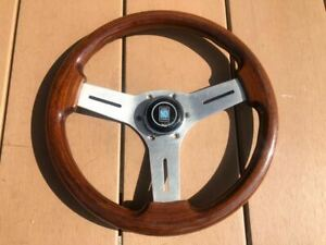 Nardi Competition Polished Wood 330 Mm Steering Wheels Jdm From Japan F S