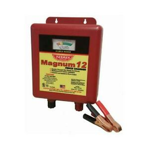 Electric Fence Charger 30 mile Low Impedance 12 volt Battery