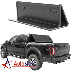 Lock Hard Tri fold Tonneau Cover Fits For 2015 2019 Ford F 150 5 5ft Short Bed
