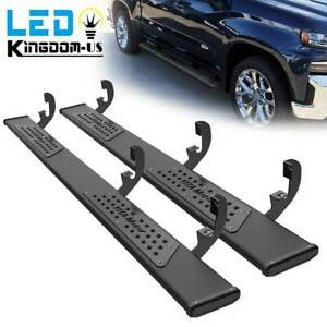 For 19 21 Chevy Silverado Sierra Crew Cab 6 Running Boards Nerf Bars Side Steps
