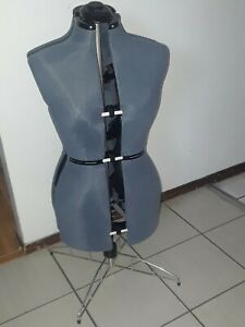 Lg Size With Dials Adjustable Dress Form Sewing Machine Mannequin Stand Guc