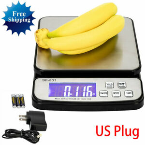 New Sf 801 110lb X 0 1 Oz Digital Shipping Postal Scale W ac Adapter