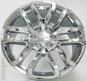 4 New Chevy Suburban Tahoe Chrome 22 Wheels Rims Lugs Free Shipping 5924