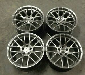 18x8 5 18x9 5 Avant Garde M359 Silver 18 Wheels Fit Bmw E39 525 528 530 540