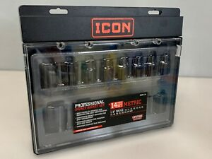 Icon 13sm 14 Impact Socket Set Metric 1 2 Drive 56365