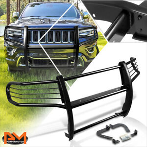 For 11 16 Jeep Grand Cherokee Wk2 Suv Front Bumper Grille Guard Protector Black